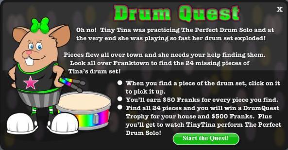 Drum Quest intro